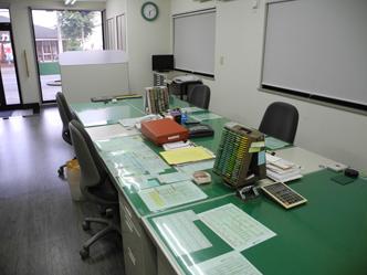 次広達摩税理士事務所オフィス内